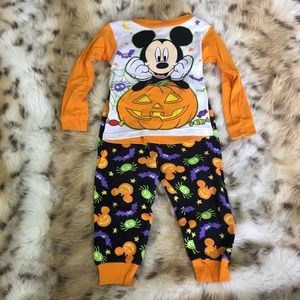Mickey Mouse Halloween Pajama Set